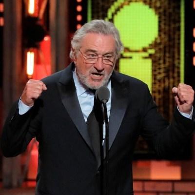 Robert De Niro insulta a Trump y es ovacionado en los Premios Tony