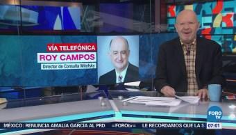 Roy Campos: Anaya y Meade se rezagan por pelear segundo lugar