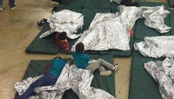 Foto: Los niños inmigrantes separados de sus padres son enjaulados, 2 febrero 2019