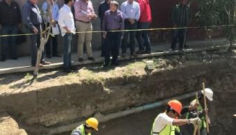 Supervisan trabajos de saneamiento del río Tijuana