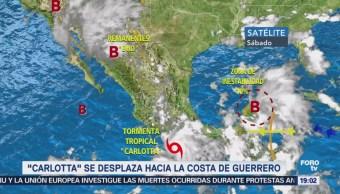 Carlotta Desplaza Hacia Costa Guerrero