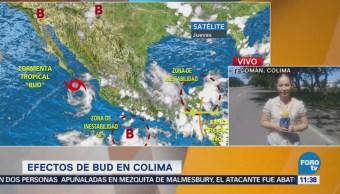 Se aproxima zona de inestabilidad a Colima