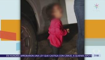 Se desconoce paradero de niña migrante en foto viral