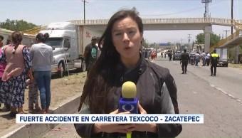 Mantiene Cerrada Circulación Carretera Texcoco-Zacatepec