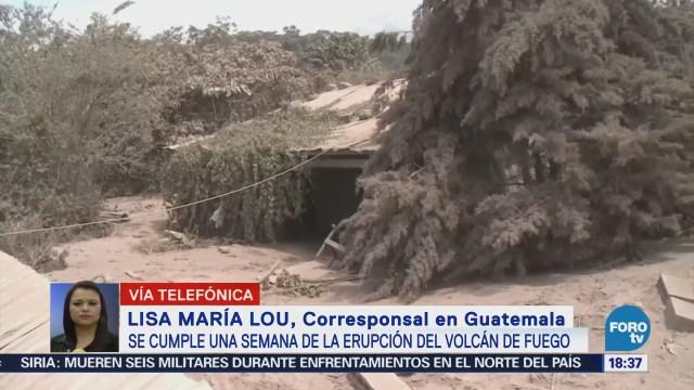 Mantiene Riesgo Guatemala Semana Explosión Volcán