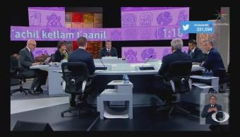 Realiza Tercer Debate Presidencial Candidatos Merida