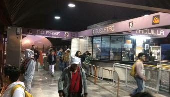 Se restablece servicio estaciones de Línea A de Metro CDMX