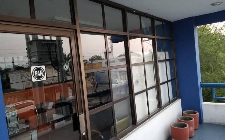 PAN condena ataque a sede de Cd. Victoria, Tamaulipas
