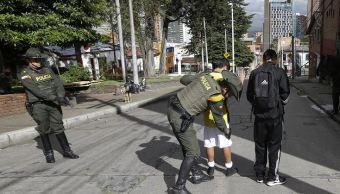 Policías protegerán elecciones presidenciales en Colombia