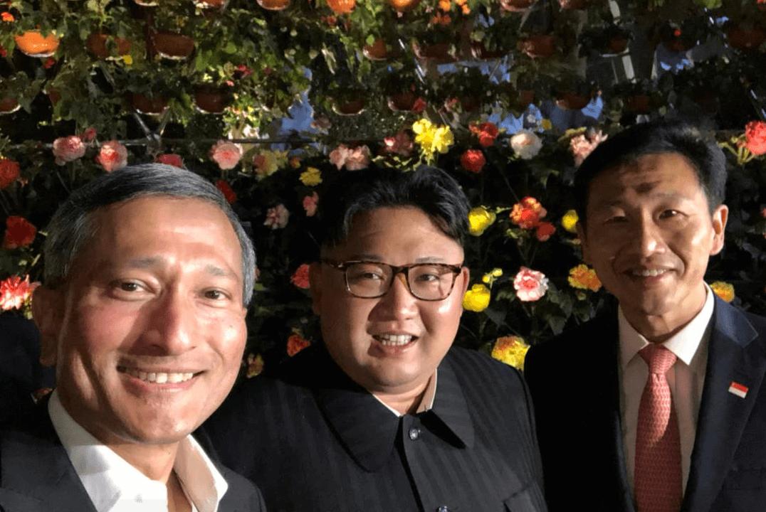 Kim Jong-un sale de turismo en Singapur