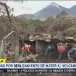 Riesgo Deslizamiento Material Volcánico Guatemala Lava
