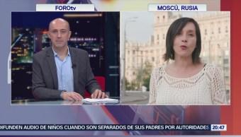 Siguen los festejos en Rusia tras victoria