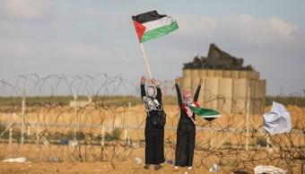 Soldados israelíes matan palestinos frontera Gaza