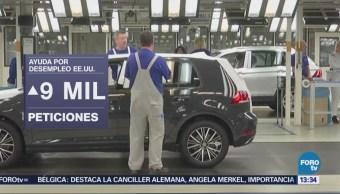Solicitudes de ayuda por desempleo en EU aumentan en 9