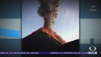 Suman 25 muertos por erupción volcánica en Guatemala