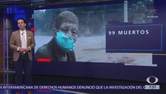 Suman 99 muertos por la erupción volcánica en Guatemala