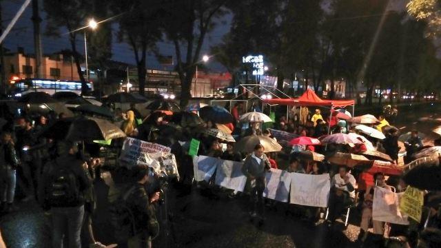 damnificados 19s vuelven bloquear calzada tlalpan