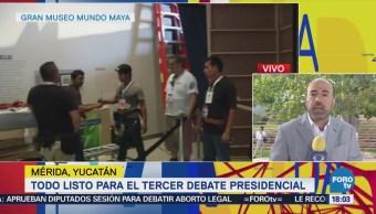 Todo Listo Para Tercer Debate Presidencial