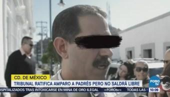 Tribunal ratifica amparo a Guillermo Padrés pero no saldrá libre