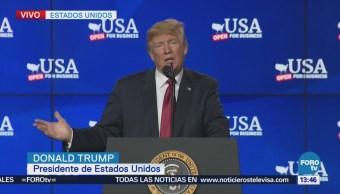 Trump arremete contra China por déficit comercial