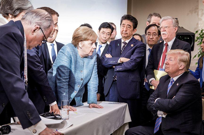 Trump culpa a Canadá por no suscribir el texto del G7