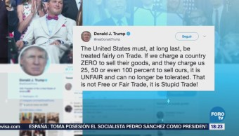Donald Trump Defiende Decisión Imponer Aranceles