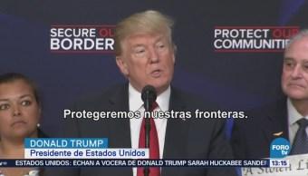 Trump Defiende Política Migratoria Donald