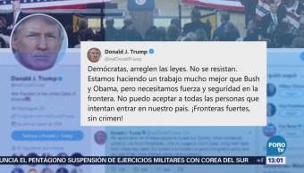 Trump Pide Deportar Manera Inmediata Inmigrantes