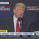 Trump se reúne con miembros de