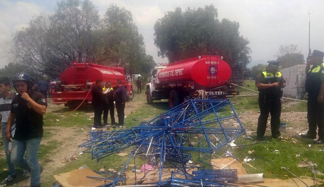 En hospitales de especialidad, heridos de explosiones en Tultepec