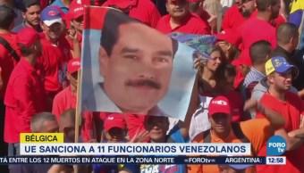 UE impone nuevas sanciones contra 11 funcionarios de Venezuela