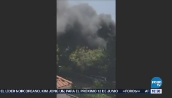 Bomberos Controlan Incendio Bosques Las Lomas