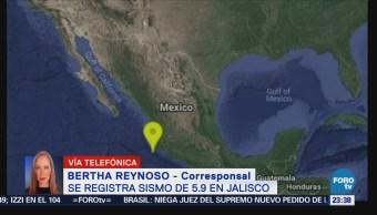 Sismo Jalisco Perceptible Colima Cihuatlán Costa