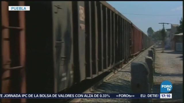 Robos Trenes Seis Meses Puebla Criminales
