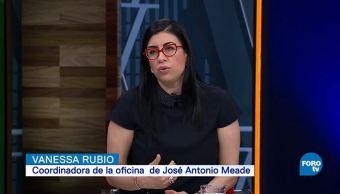 Vanessa Rubio detalla en Alebrijes propuesta económica de Meade