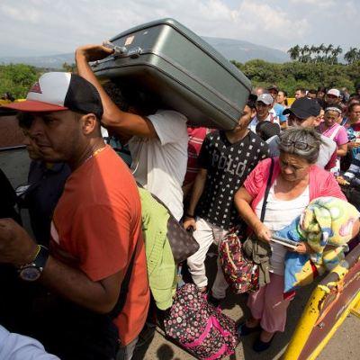 Un millón de personas migró de Venezuela a Colombia en 15 meses