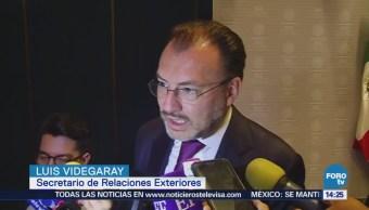 Videgaray México Vigila No Atente Contra Migrantes