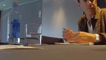 Filtran audios y video de reuniones de Juan Barreiro, donde habla de Anaya