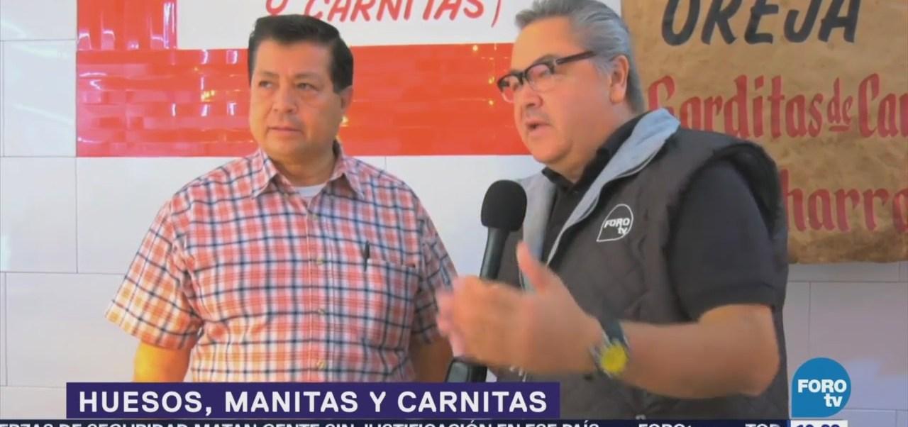 Coman Manitas Puerto Carnitas Restaurante Cdmx