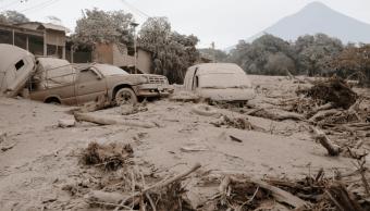 Volcán de Fuego tomó por sorpresa a guatemaltecos