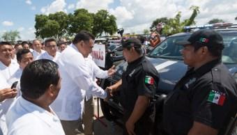 Yucatán Seguridad Policía Escudo Gobernador Gobierno