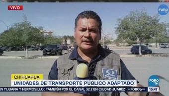 Unidades Transporte Público Adaptado Chihuahua
