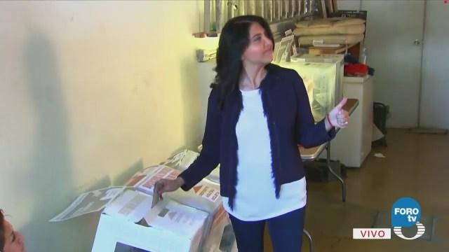 Alejandra Barrales Emite Voto Ciudad De México