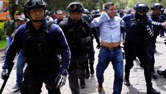 Detienen a 62 personas por violencia electoral en Puebla