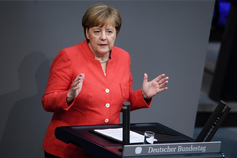 Merkel advierte a Trump sobre 'guerra' comercial