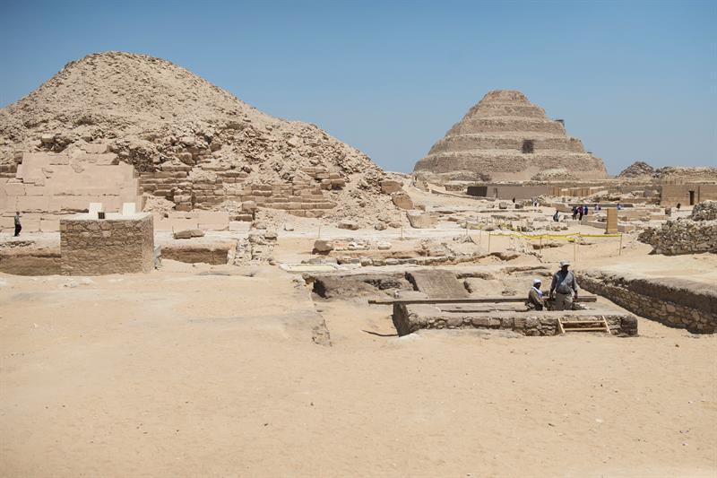 Torre de más de 2500 años, es fundamental para analizar la momificación faraónica