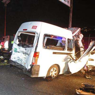 Responsabilizan a conductor de camioneta por accidente en autopista México-Pachuca