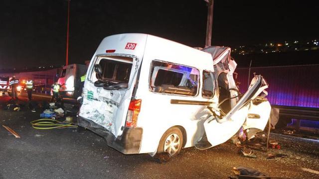 Chofer de camión, culpable de accidente en México-Pachuca
