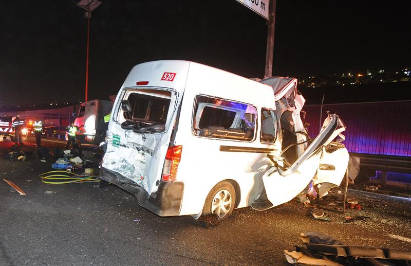 Chofer de camión, culpable de accidente en México-Pachuca