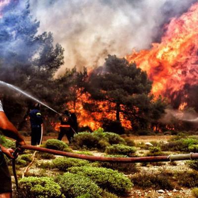 México lamenta la pérdida de vidas humanas por incendios en Grecia